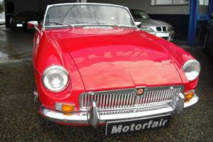 1970 MG/ MGB HISTORIC ROAD TAX,WIRE WHEELS,TARTAN RED,STUNNING THROUGHOUT