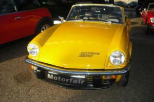 1979 Triumph Spitfire 1500cc Overdrive, Photographic evidence of restoration Photo