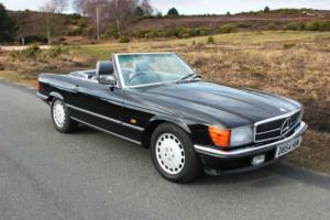 Mercedes-Benz 300SL 420SL 500SL 107 280SL Pagoda Jet Black!