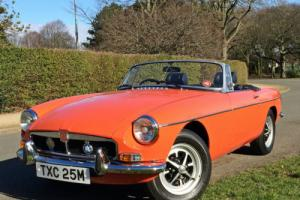1974 MGB ROADSTER - AMAZING CONDITION - GENUINE MILES