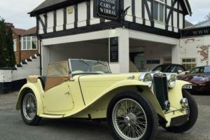 1948 MG TC Roadster - Last owner 40 years - Original Colour Photo