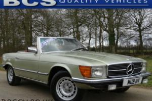 1980 Mercedes-Benz 350 SL Roadster In Light Green Automatic