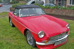1978 MG/ MGF MGB Roadster 4.0