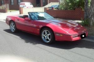 Chev Corvette 1987 Convertible Photo
