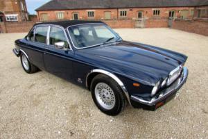 JAGUAR 3.4 CABRIOLET 1985 - VERY RARE CAR - WINDSOR BLUE WITH GREY HIDE INTERIOR
