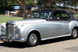 Bentley S1 1957 Black Over Silver Made BY Rolls Royce in Blacktown, NSW