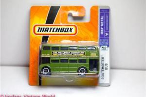 Matchbox #52 2007 DOUBLE DECKER ROUTEMASTER LONDON BUS - BRAND NEW P6421