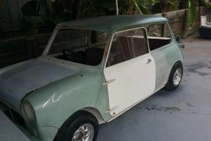 Mini Morris Minor 1963 1000cc Sedan Unfinished Project Australia Compliance in Mount Druitt, NSW