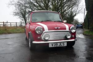 2000 Classic Rover Mini Cooper Palmer S Works in Red
