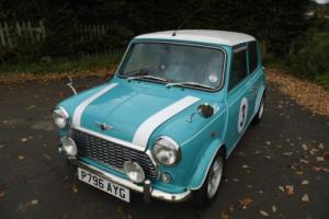 1997 Classic Rover Mini Cooper in Surf Blue with Lots of Extras