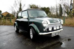 2000 Classic Rover Mini Cooper Sport in British Racing Green and 16,000 miles