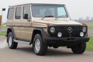 1988 F MERCEDES-BENZ G-WAGEN 2.7 280 GE 5D AUTO 150 BHP