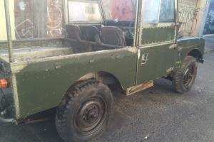 """Land Rover Series 1 1958 88"""" Lovely Original Condition Photo"""
