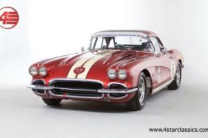 FOR SALE: Chevrolet Corvette C1 327 V8 Racing Car 1962