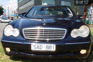 Mercedes Benz C200 Kompressor Elegance 2002 4D Sedan 5 SP Automatic Tipsh in Hampton, VIC