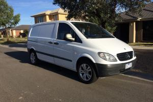 Mercedes Benz Vito 109CDI Compact 2004 4D VAN 6 SP Manual 2 1L Diesel in Craigieburn, VIC