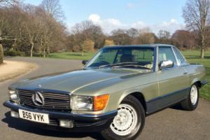 1984 Mercedes-Benz 500SL R107 V8 Automatic - 72,000 MILES - FULL SERVICE HISTORY
