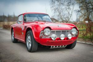 1962 Triumph TR4 Historic Rally Car