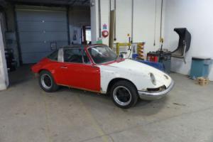 Porsche 911 Targa 1972 resto project