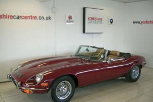 Jaguar 'E' TYPE V12 AUTO CONVERTIBLE