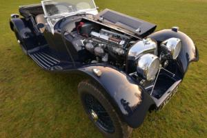2013 Suffolk Jaguar SS100 Replica. Factory Built.