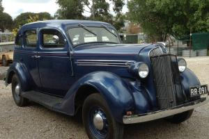 1936 Chrysler Sedan