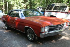 Chevrolet : Chevelle Convertible