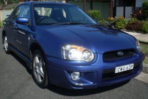 Subaru Impreza RS AWD 2003 4D Sedan 5 SP Manual 2 5L Multi Point in Wallsend, NSW