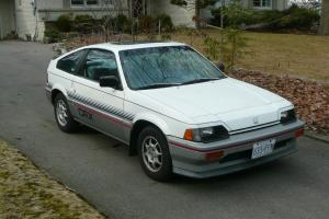 Honda : CRX DX Photo
