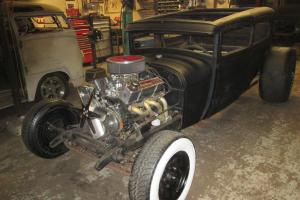 Ford : Model A flat black