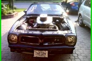Pontiac : Firebird 9 Second Pro Street Car