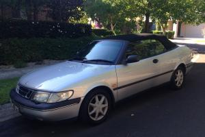 Saab 900 S 1996 Silver Convertible Sport Automatic in Northmead, NSW Photo