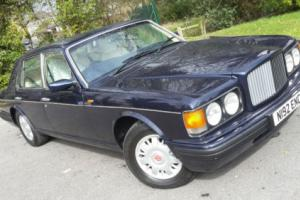 1996 N BENTLEY BROOKLANDS 6.8 AUTO 4 DOOR PEACOCK BLUE WITH CREAM LEATHER VIP PX
