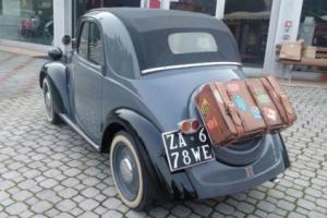 Fiat 500 A TRASFORMABILE BALESTRA CORTA ASI TARGA ORO PX CONSIDERED