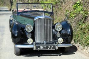 1950 Bentley MKVI Park Ward Drophead Coupe B283FU