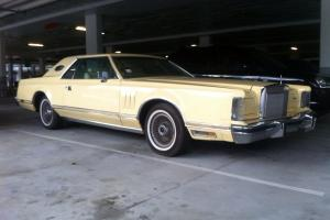 1979 Lincoln Continental Cartier Edition 2 Door Coupe V8 Luxury in Mermaid Waters, QLD