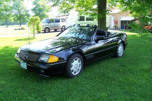 Mercedes-Benz : SL-Class 500SL leather