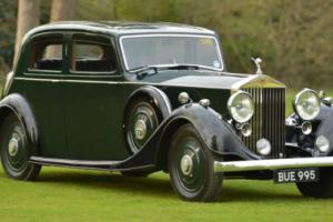 1937 Rolls Royce 25/30 Sports Saloon by Thrupp & Maberly