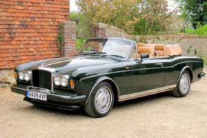 1990 Bentley Continental Convertible Photo