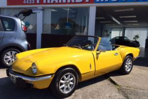 Triumph Spitfire 1500cc, Excellent condition, Fully restored