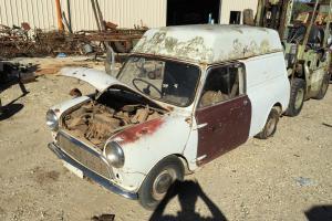Mini 850 Panel VAN 1965
