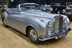 1960 Rolls Royce Silver Cloud II Mulliner Convertible. LHD