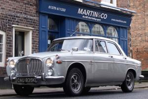 1972 Rover P5B saloon 3500 V8 in Silver Birch c/w MOT