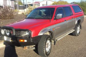 Mitsubishi Triton GLS 4x4 1998 Dual CAB UTE Manual 3L Multi Point in Bayswater, VIC