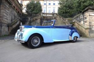 1954 Alvis TC100 Drophead Manual