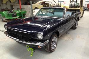 Ford Mustang 1965 C Code 289 Convertible Unfinished Ground UP Resto NEW Parts GT