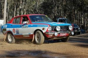 Datsun Rally CAR PB210 Factory Dealer Team Southern Cross Rally Entrant Works Photo