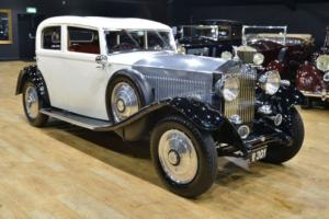1933 Rolls Royce 20/25 Park Ward Sports Saloon. Photo