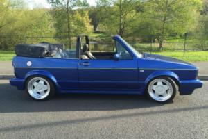 """1988 Volkswagen Golf 1.8 CARB Clipper Edn CABRIOLET 16"""" BORBET 12 MTHS MOT"""