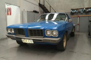 HQ 1 Tonne UTE Drag HJ HX Great Project CAR Runs AND Drives NO Rust